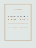 Representative Democracy: Principles and Genealogy