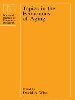 Topics in the Economics of Aging