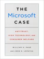 The Microsoft Case