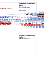 Design for Democracy: Ballot and Election Design