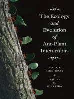 The Ecology and Evolution of Ant-Plant Interactions