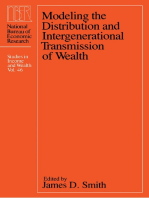 Modeling the Distribution and Intergenerational Transmission of Wealth