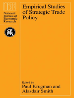 Empirical Studies of Strategic Trade Policy