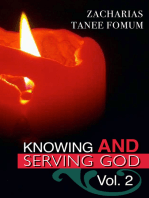 Knowing And Serving God (Volume Two)