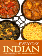 Everyday Indian: Slow Cooker with Curry and Indian Spices