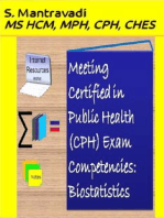 Meeting Certified in Public Health (CPH) Exam Competencies