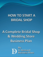 How To Start A Bridal Shop