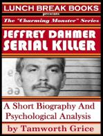 Jeffrey Dahmer, Serial Killer