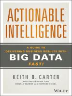 Actionable Intelligence