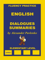 English, Dialogues and Summaries, Elementary Level