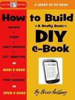 How To Build A DIY E-Book