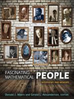 Fascinating Mathematical People