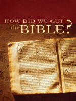 How Did We Get the Bible?