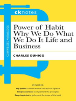 CKnotes on the Power of Habit