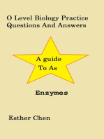 O Level Biology Practice Questions And Answers Enzymes