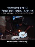 Witchcraft in Post-colonial Africa