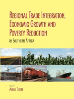 Regional Trade Integration, Economic Growth and Poverty Reduction in Southern Africa