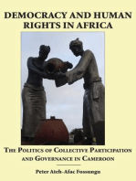 Democracy and Human Rights in Africa
