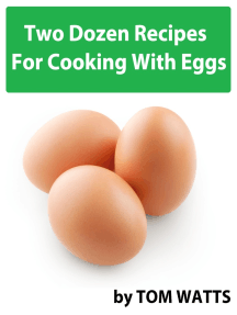 Two Dozen Recipes For Cooking With Eggs
