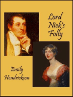 Lord Nick's Folly