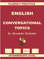 English, Conversational Topics, Intermediate Level
