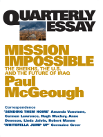 Quarterly Essay 14 Mission Impossible