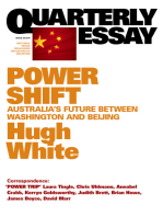 Quarterly Essay 39 Power Shift