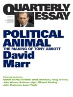 Quarterly Essay 47 Political Animal