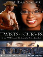 Twists and Curves - A Sexy BWWM Interracial BBW Romance Novella from Steam Books