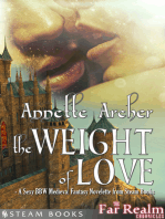 The Weight of Love - A Sexy BBW Medieval Fantasy Novelette from Steam Books