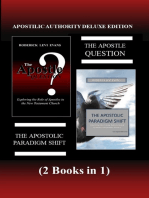 Apostolic Authority Deluxe Edition (2 Books in 1)