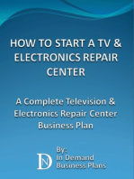 How To Start A TV & Electronics Repair Center