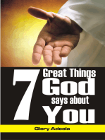 7 Great Things God Says about You