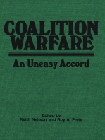 Coalition Warfare: An Uneasy Accord