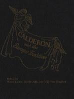 Calderon and the Baroque Tradition