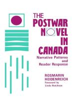 The Postwar Novel in Canada