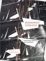 Borrowed Tongues: Life Writing, Migration, and Translation