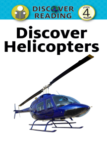 Discover Helicopters: Level 4 Reader