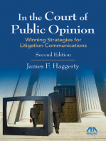 In the Court of Public Opinion