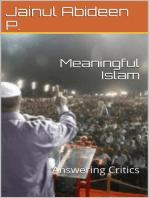 Meaningful Islam