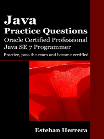 Java Practice Questions: Oracle Certified Professional, Java SE 7 Programmer (OCPJP)