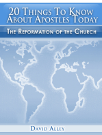 20 Things To Know About Apostles Today