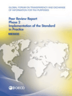 Global Forum on Transparency and Exchange of Information for Tax Purposes Peer Reviews: Mexico 2014:  Phase 2: Implementation of the Standard in Practice