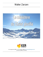 Le ministère de Christ glorifié