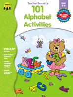 101 Alphabet Activities, Ages 3 - 6