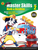 Math & Reading Workbook, Grade 2