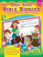 Tricky, Sticky Bible Riddles, Grades 2 - 3