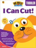 I Can Cut, Grade Toddler
