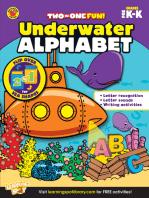 Underwater Alphabet & Sea Shapes, Grades PK - K