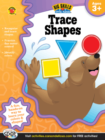 Trace Shapes, Ages 3 - 5